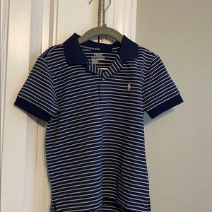 Boys performance fabrics shirt